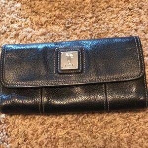 Tignanello Black Leather Wallet